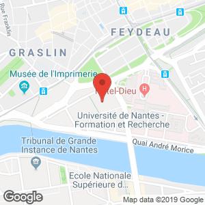 CHU Nantes localisation